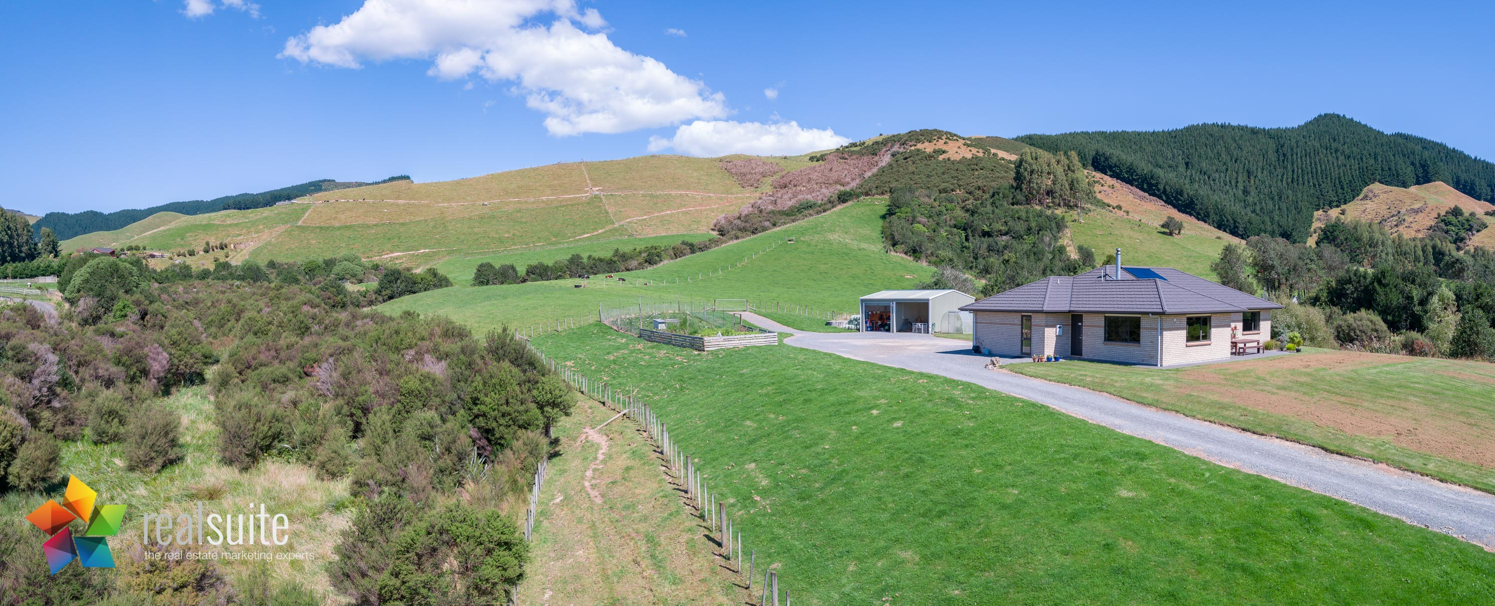 123e Johnsons Road, Whitemans Valley Aerial 0895-Pano