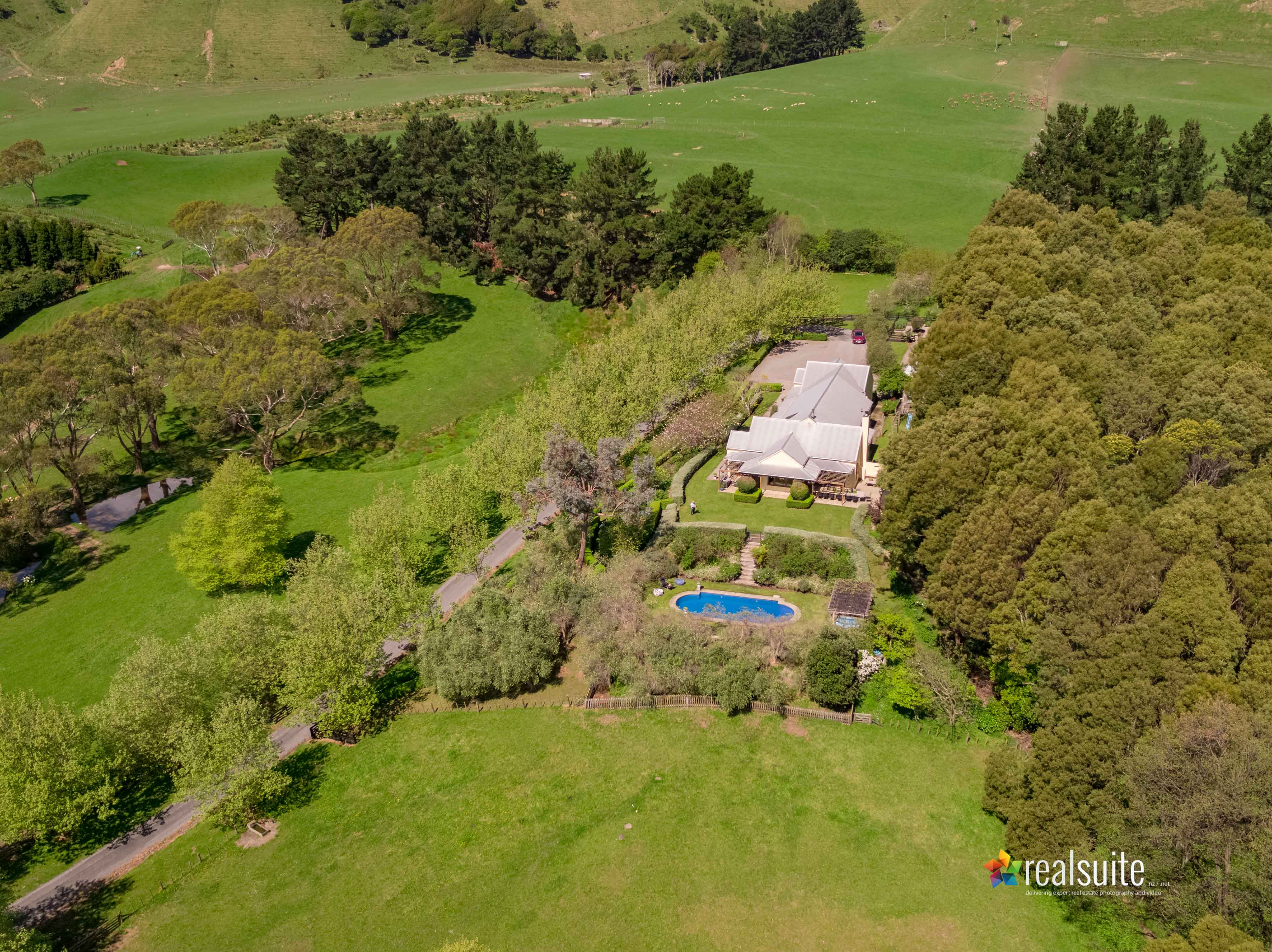 181 Settlement Road, Te Horo Aerial 0652