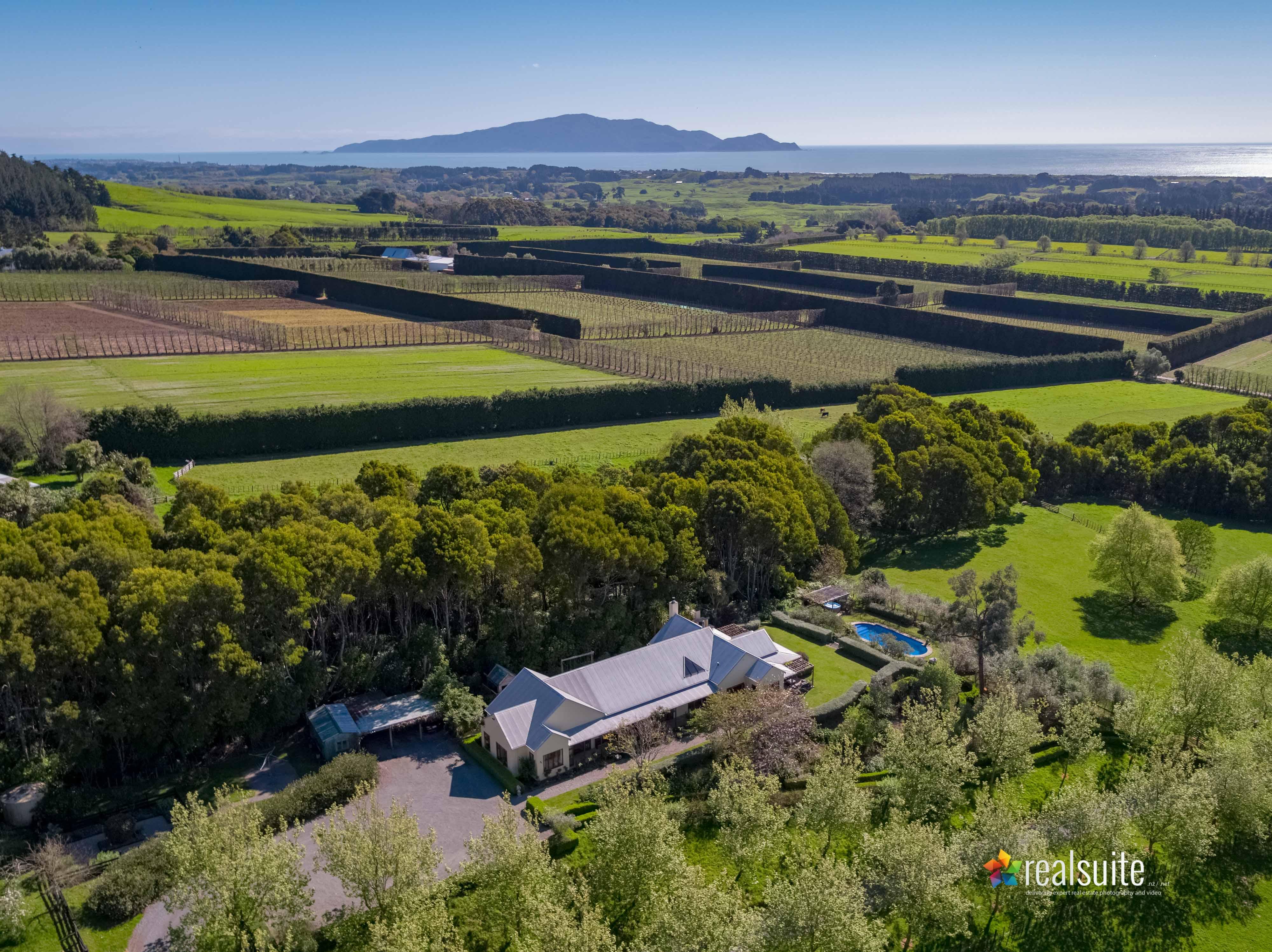 181 Settlement Road, Te Horo Aerial 0735
