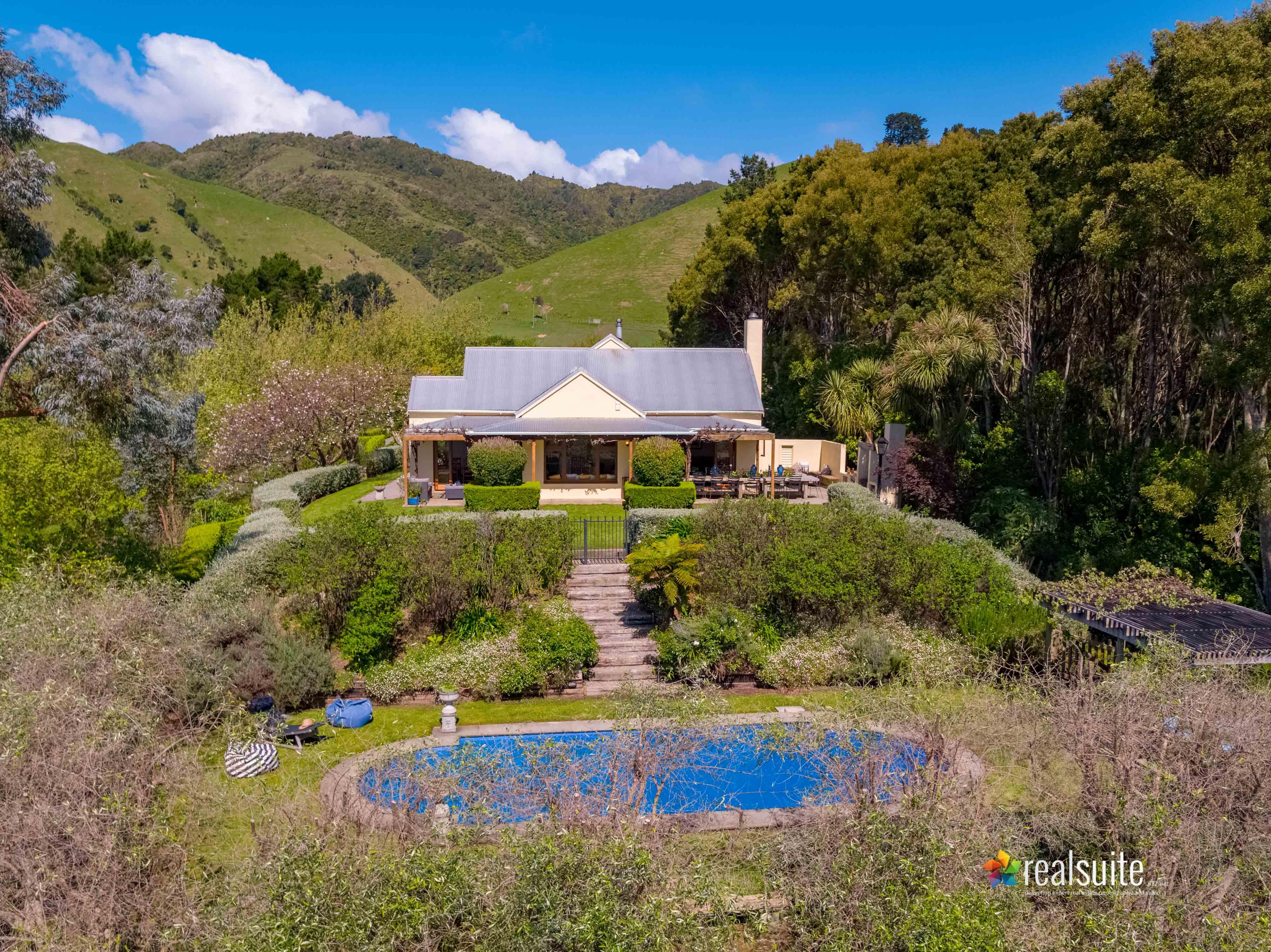181 Settlement Road, Te Horo Aerial 0673