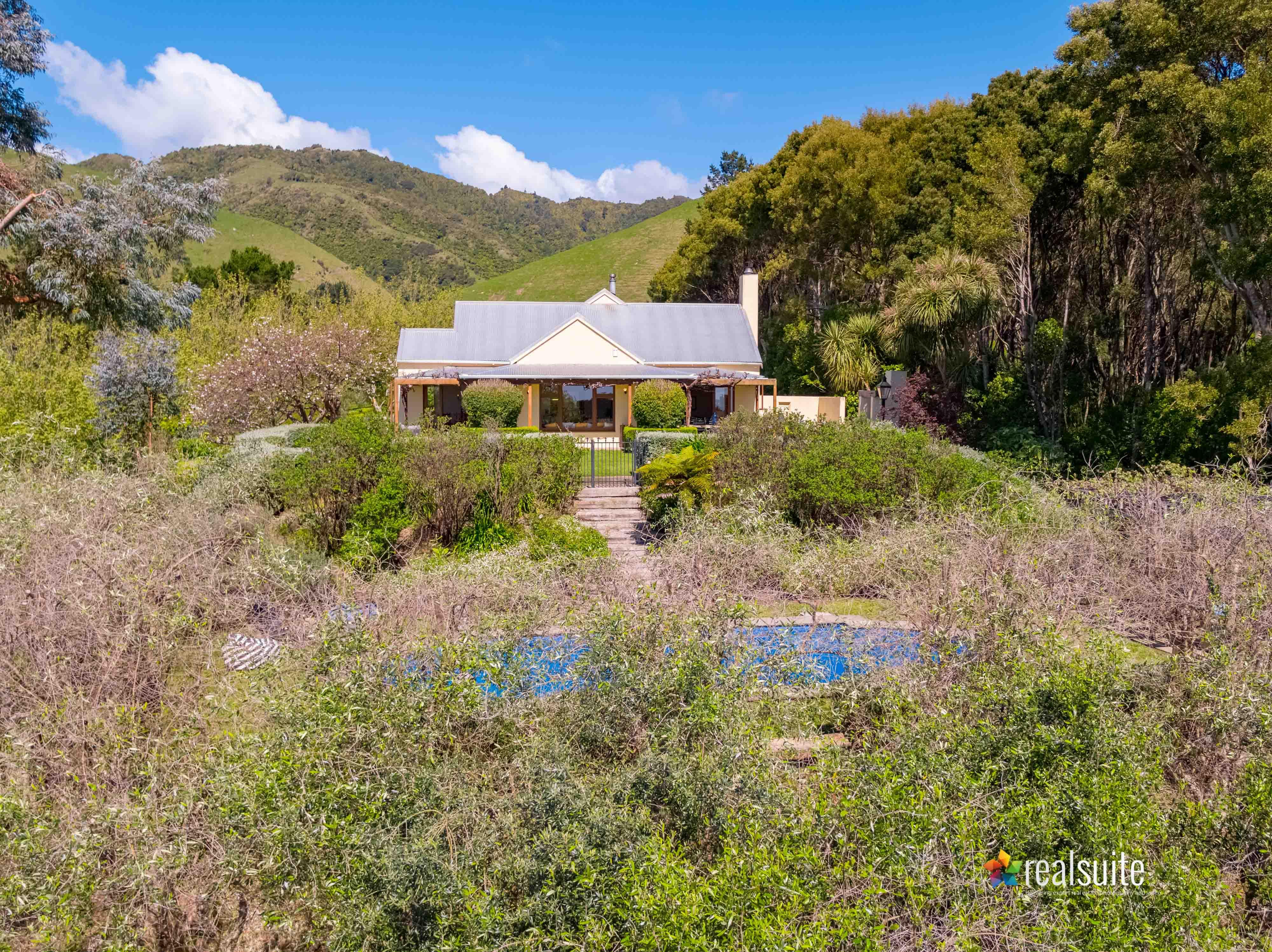 181 Settlement Road, Te Horo Aerial 0669