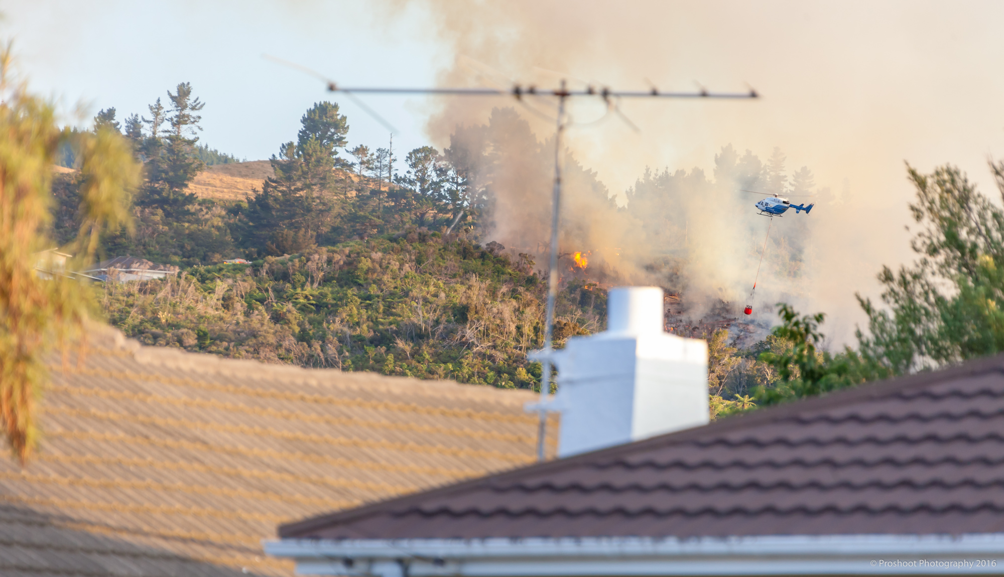Upper Hutt Scrub Fire Images 5573