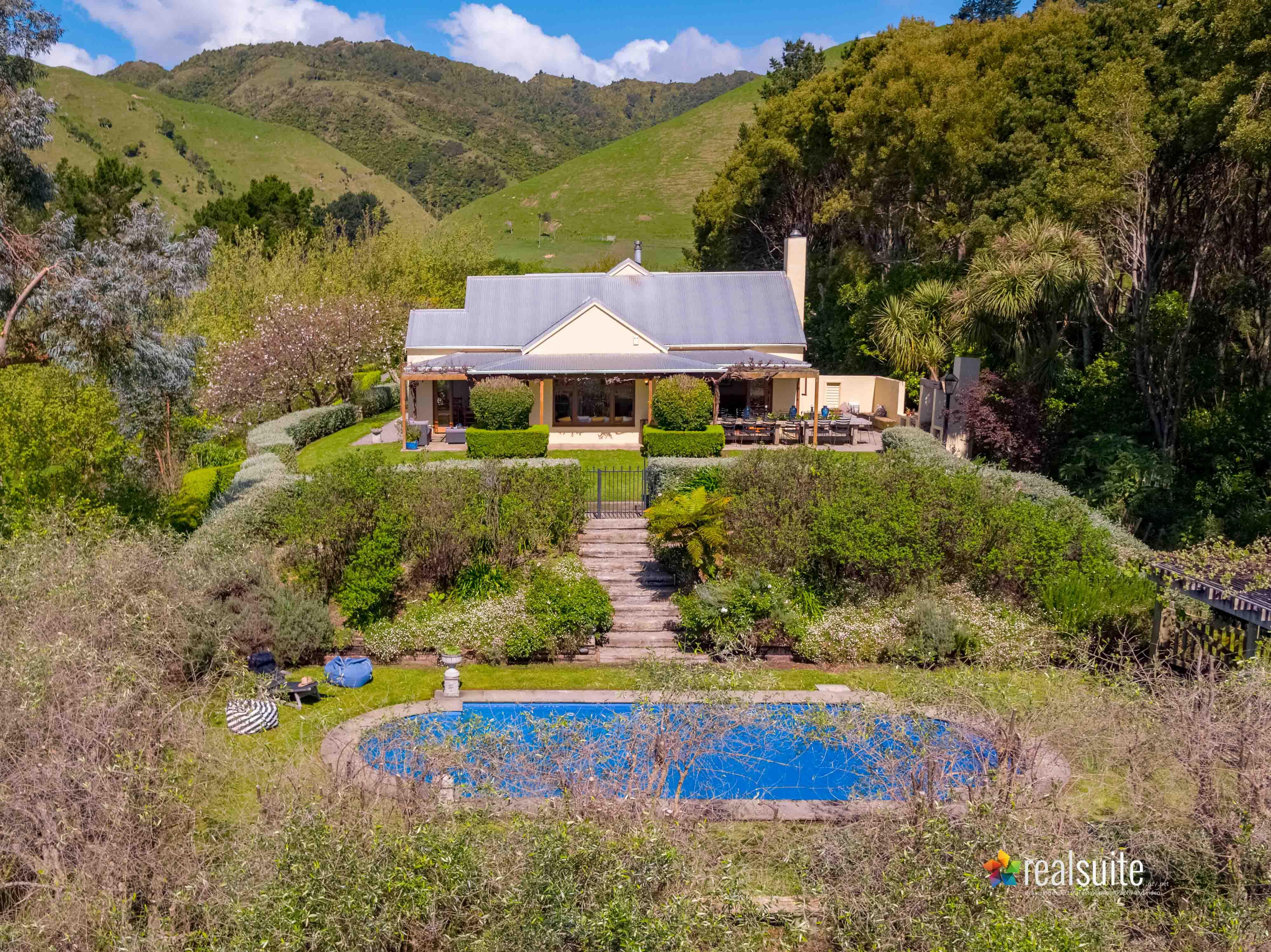 181 Settlement Road, Te Horo Aerial 0672