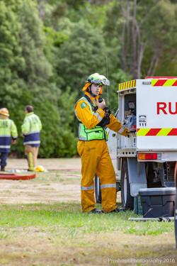 Te Marua Rural Fire 9264