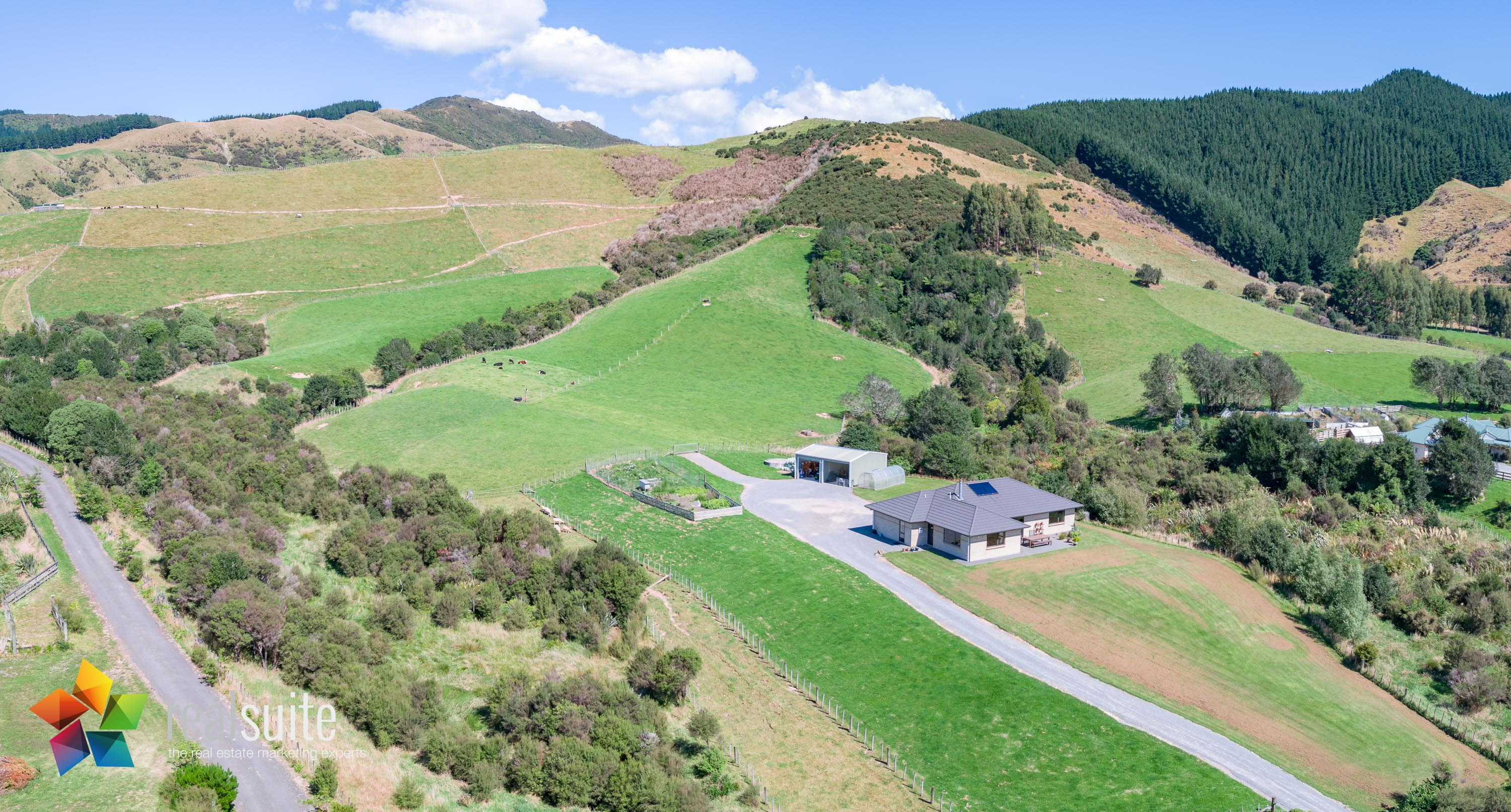 123e Johnsons Road, Whitemans Valley Aerial 0929-Pano