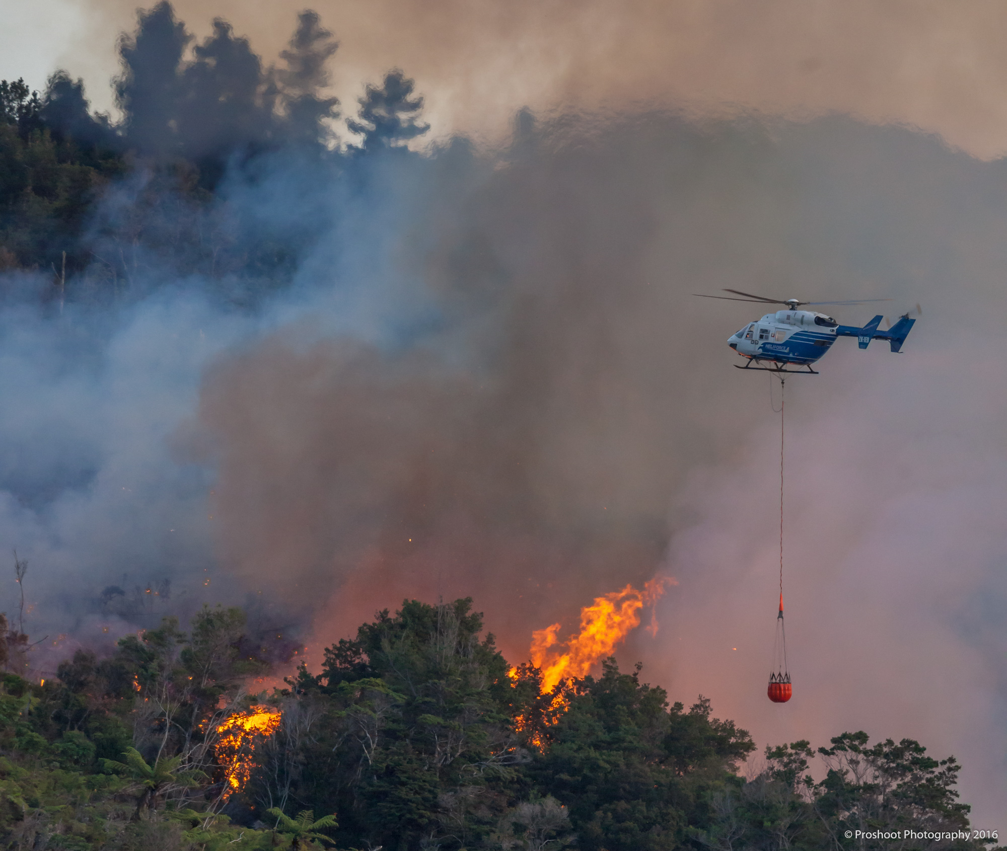 Upper Hutt Scrub Fire  5962
