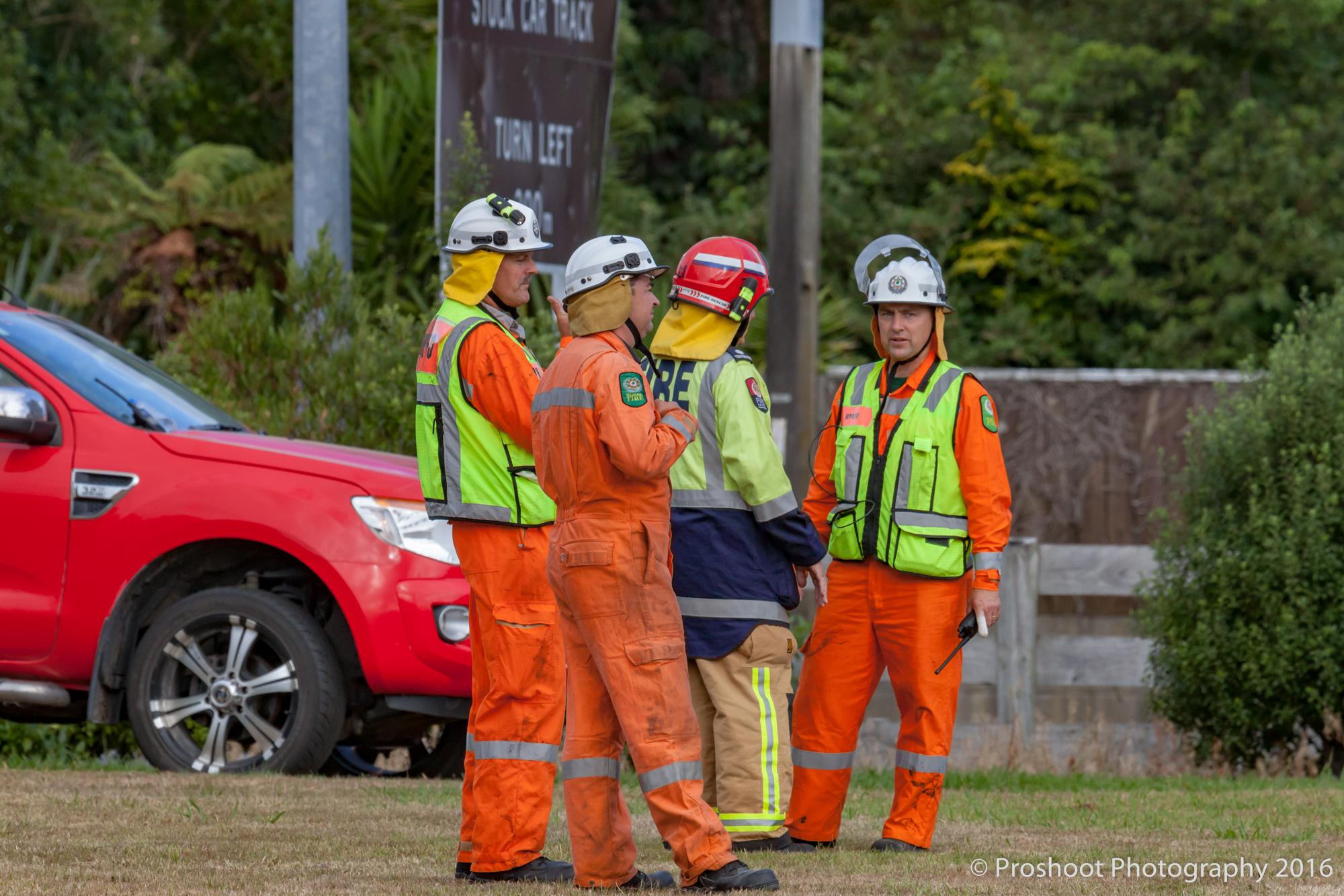 Te Marua Rural Fire 9496