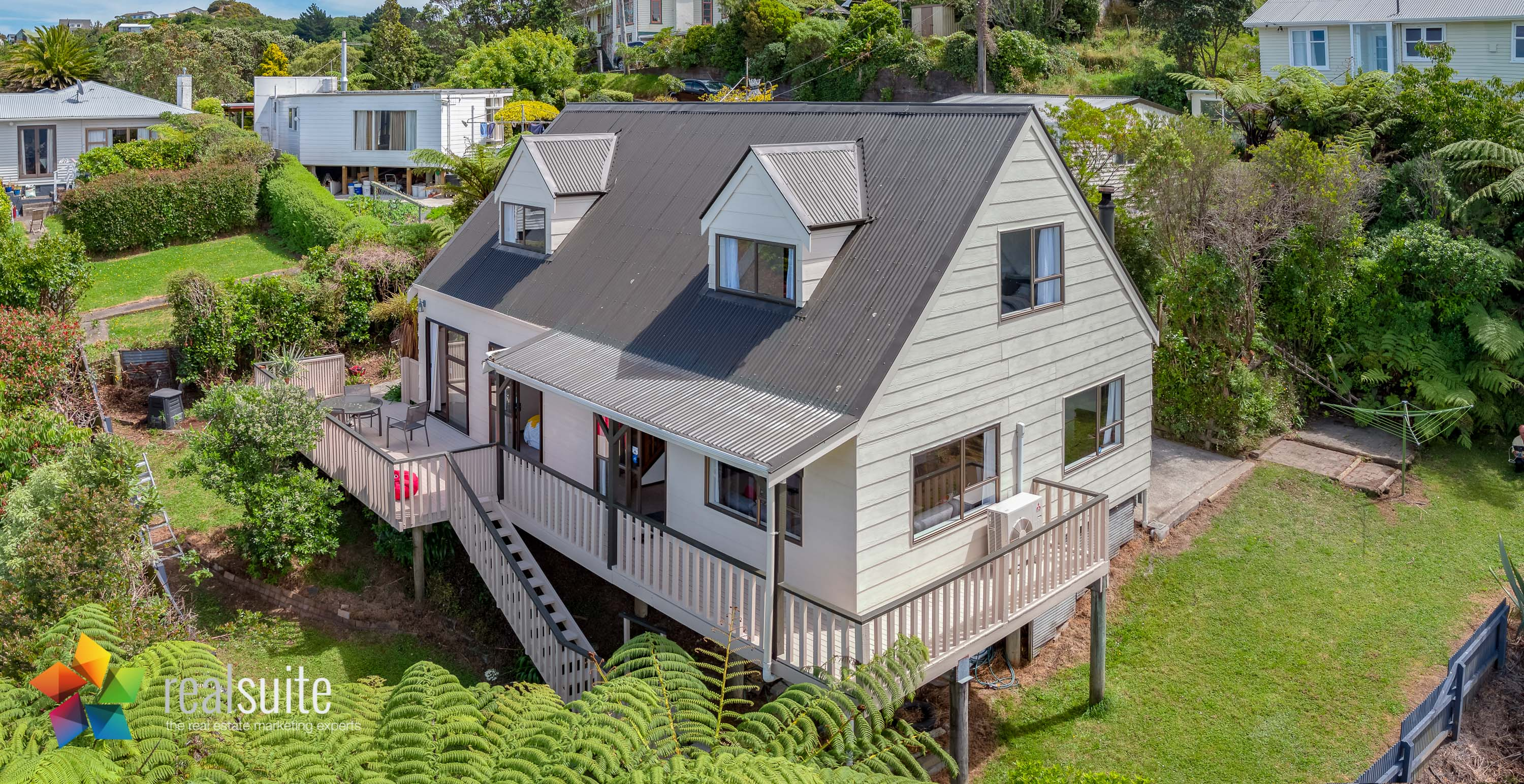 47 Pokohiwi Road, Lower Hutt Aerial 0433-Pano