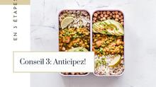 Changer d'alimentation facilement: Conseil 3: Anticipez!