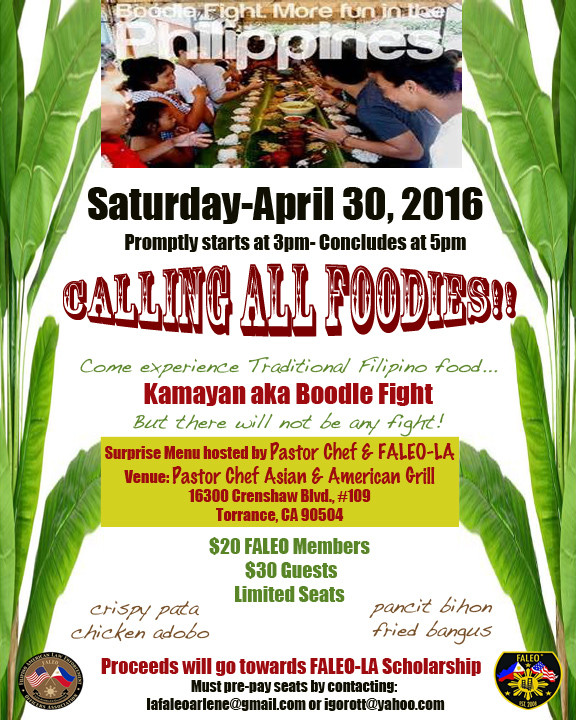 Calling All FOODIES!