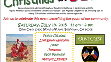 FALEO-LA 3rd Annual Christmas in July