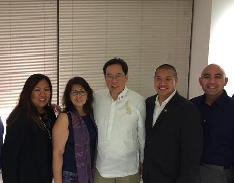 Meeting with Los Angeles Philippine Consulate General