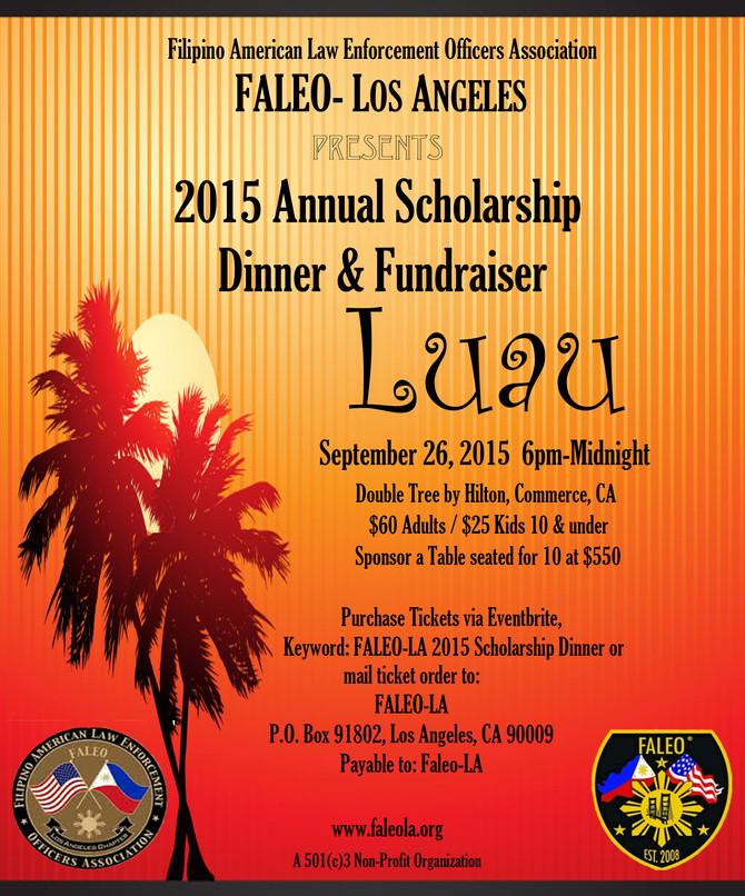 FALEO-LA Scholarship Luau