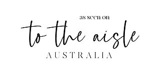 as seen on to the aisle australia logo.j