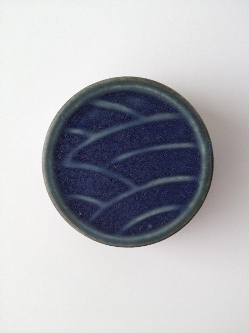コバルト釉陶箱