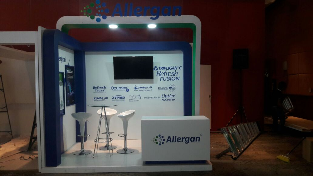 STAND 3X3 CROWN PLAZA CDMX