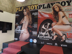 EVENTO PLAY BOY, PORTADAS GIGANTES