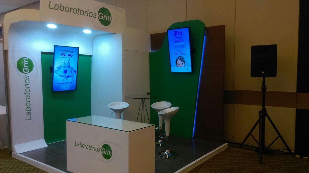 STAND 3X3M CROWN PLAZA CDMX