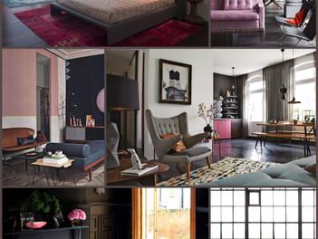 The Masculine Pink Interior