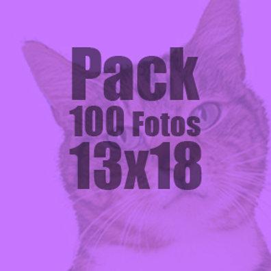 100 fotos 13x18