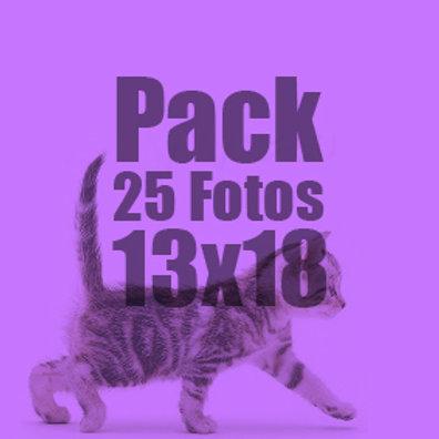 25 fotos 13x18