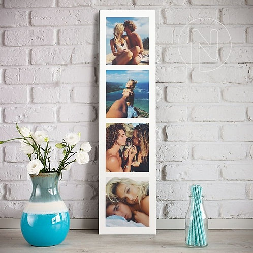 Foto bastidor Collage en tira 15x60cm