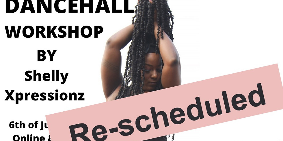 DANCEHALL WORKSHOP by Shelly from Jamaica!!