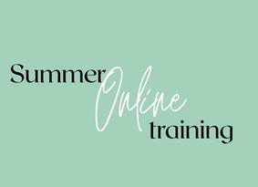 #12 week : Summer Online Training