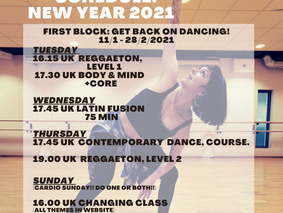 New Year 2021 Online Live class
