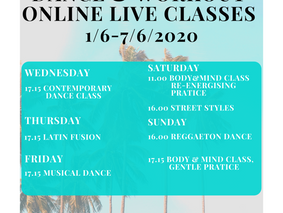 #11 week : Summer Online Live training