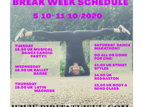 #29th week BREAK WEEK & DANCE MARATHON!!