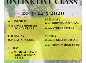 #9th week with Online Live classes