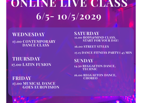 7th online live class schedule