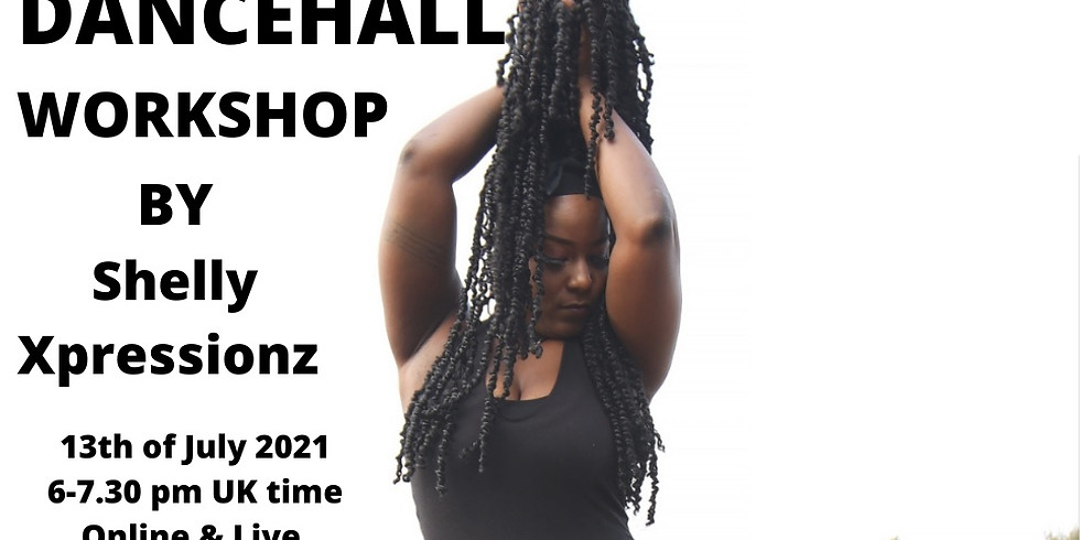 DANCEHALL WORKSHOP by Shelly from Jamaica!! 13.7.
