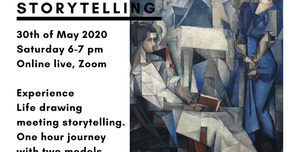 Life Drawing & Storytelling session