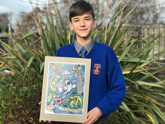 George Adadi Wins Trinity Book of Kells Award