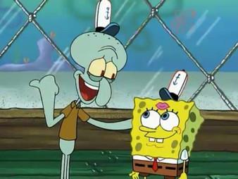 Spongebob and Squidward en Francais