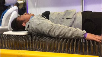 Would you lie on a bed of nails?