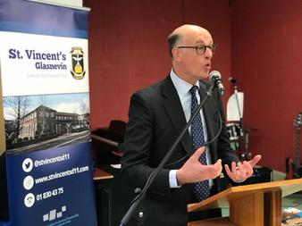 Belgian Ambassador Visits St Vincents
