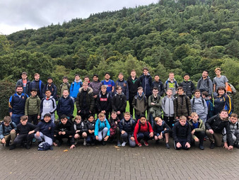 First Years Visit Glendalough