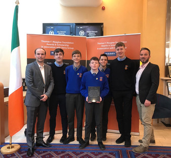 Student Video on Irish Flag Receives Prestigious Award