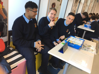 TY Students Visit the LEGO Education Studio