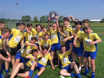 St. Vincent's U16 Gaelic Football Champions