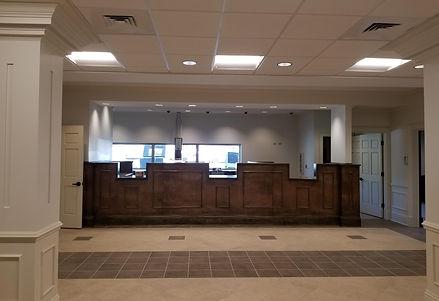Banking lobby at Jemison