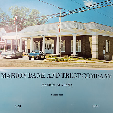 Brochure from the opening of the new Marion branch in 1973