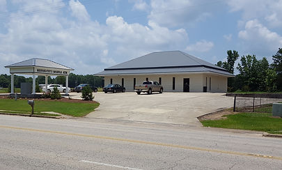 Front of Maplesville branch