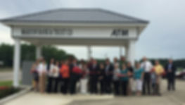 Grand opening of the Maplesville branch in June, 2016
