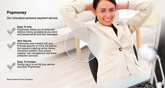 Online Banking pop money video tutorial