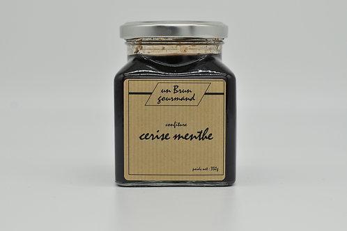 Confiture Cerise Menthe