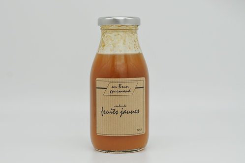 Coulis de Fruits jaunes 250ml